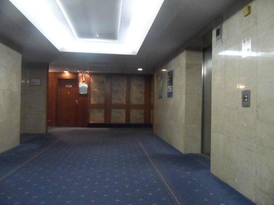 Panorama Hotel Prague: asansör