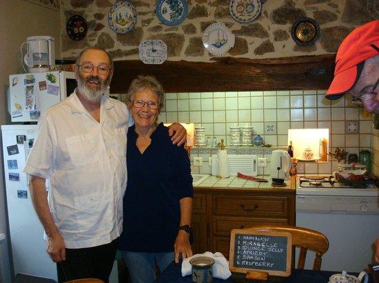 La Souvigne : Ian and Jacquie