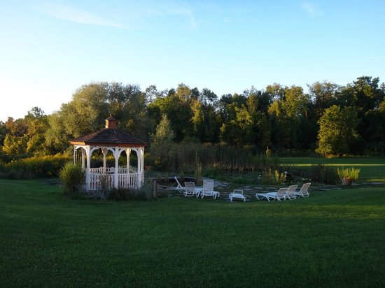 La Tourelle Hotel, Bistro, Spa: The garden & lawn