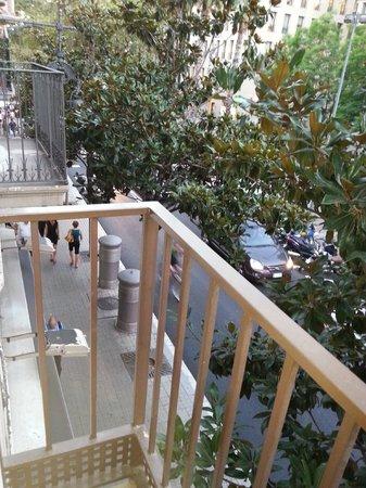 H Cristina Hotel: From the balcony towards La Pedrera