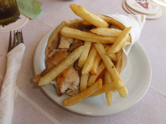 Mr Gyros: Pita Gyros Chicken