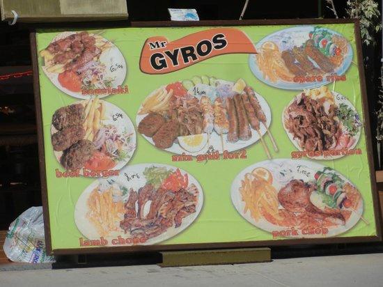 Mr Gyros: für jeden den richtigen Gyros