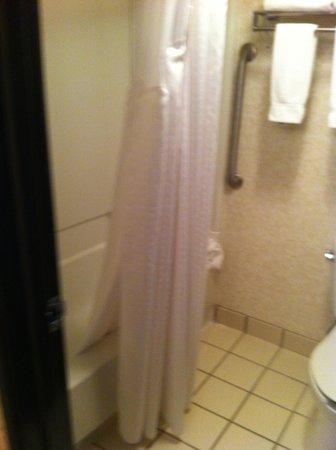 Holiday Inn Express Spokane Downtown: bathroom