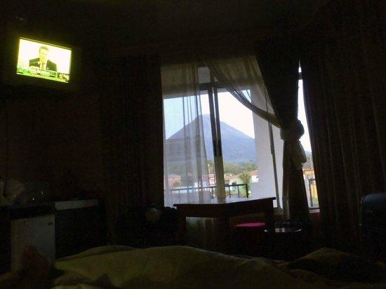Regina Hotel: La vista desde la cama