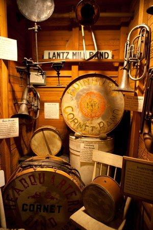 Edinburg Mill: Music exhibit