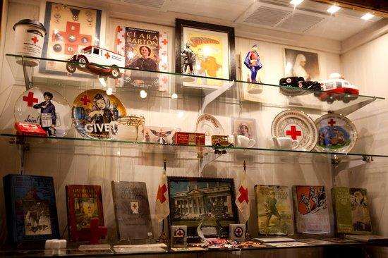 Edinburg Mill: Red Cross exhibit