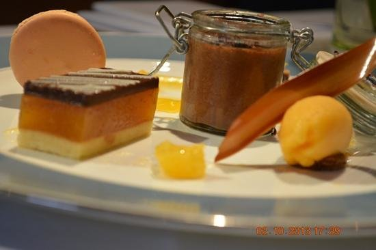 Cafe Bleu: chocolate and orange ( SEXY) welldone