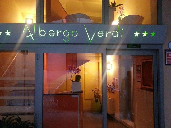 Albergo Verdi : The Entrance