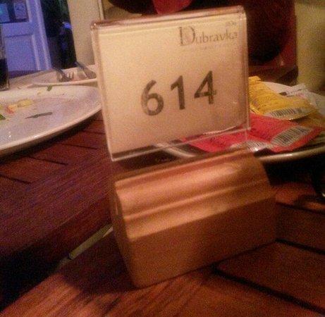 Dubravka 1836 Restaurant : İyi bir yer