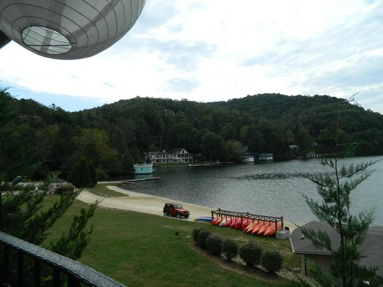 La Strada at Lake Lure : View from outside terrace