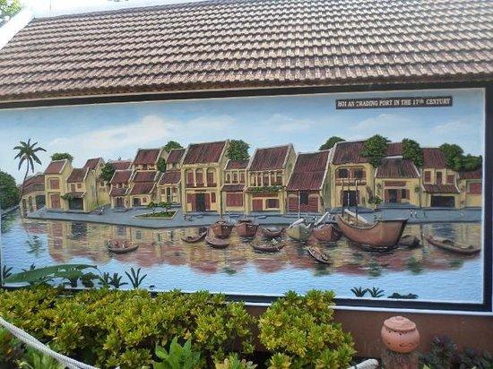 Pho Hoi Riverside Resort: mural