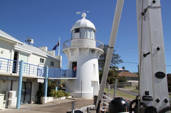 Killer Whale Museum: Lighthouse