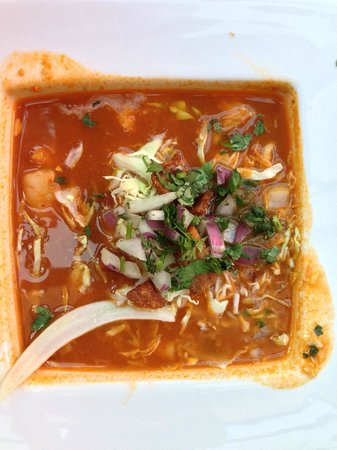 Fat Fish Cantina Grill: shrimp soup (oh, can't remember the name)!