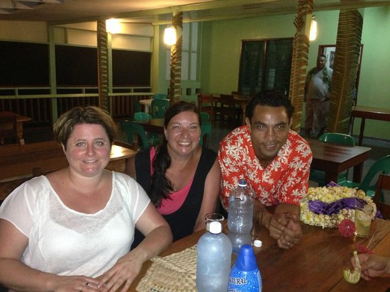 Vaisala Hotel : Tommy with a couple of the mums, always making sure were ok
