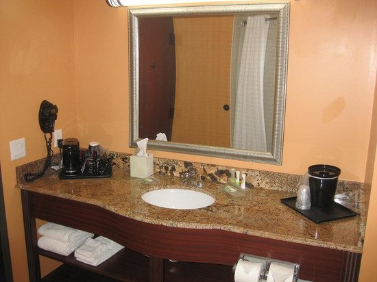 Country Inn & Suites By Carlson, Dearborn : Guest Bathroom