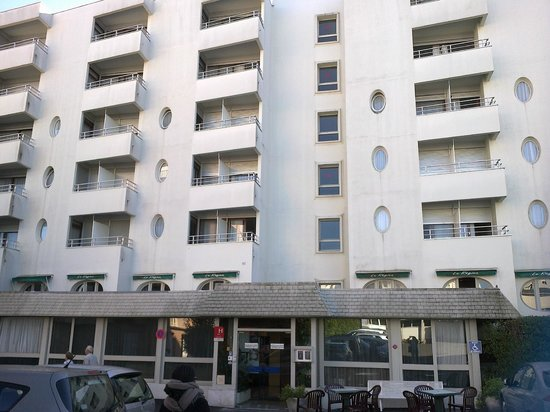 Hotel Regina : hotel vue exterieur