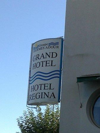 Hotel Regina : enseigne
