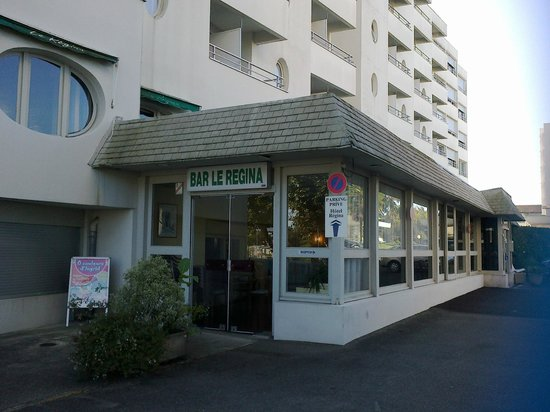 Hotel Regina : vue restaurant