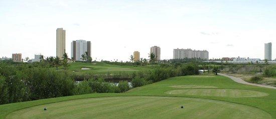 Salida del hoyo 17 Campo de Golf Marina Mazatlan