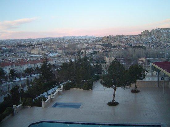 Dinler Hotels – Urgup: Vista da janela do quarto