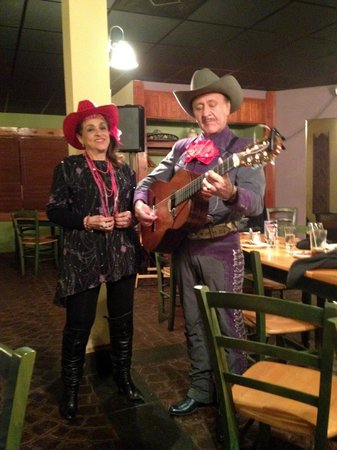Martin Carion performers at Cielito Lindo