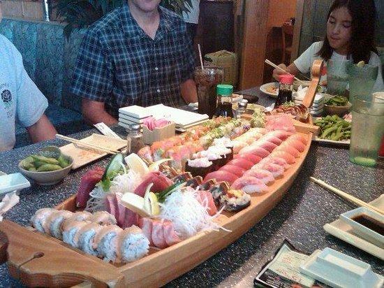 Samurai Sushi Sushi Boat