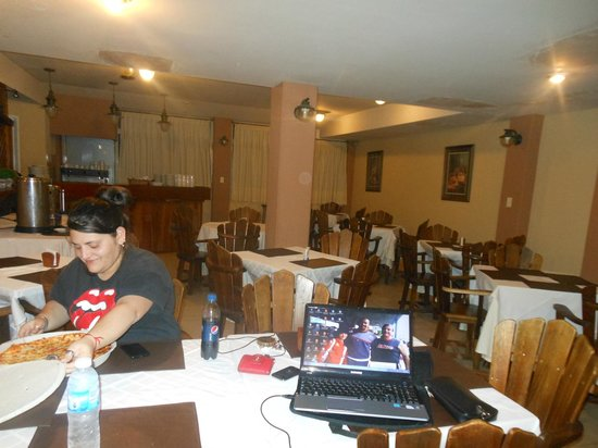Hotel San Rafael: espacioso comedor