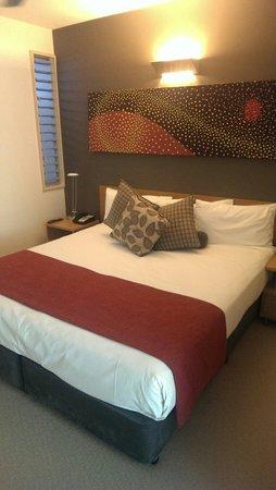 Peppers Noosa Resort and Villas : Bedroom of one bedroom apartment