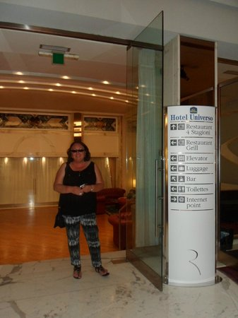BEST WESTERN Hotel Universo : My favourite Roman Hotel :)