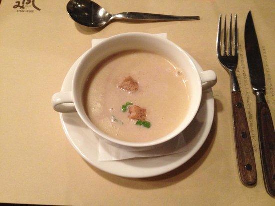 Steak House Mihashi: Delicious soup