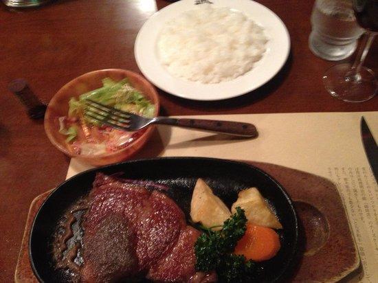 Steak House Mihashi: Great steak and sauce.