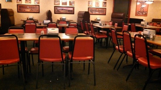 Table And Booth Seating In The Dining Room Picture Of