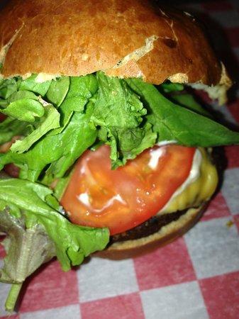 Moo Burgers Shakes and Fries: Moo Cheeseburger