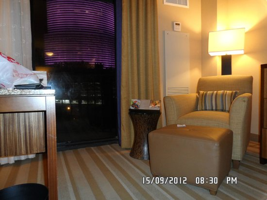 Hyatt Regency Miami: vista habitacion nation bank