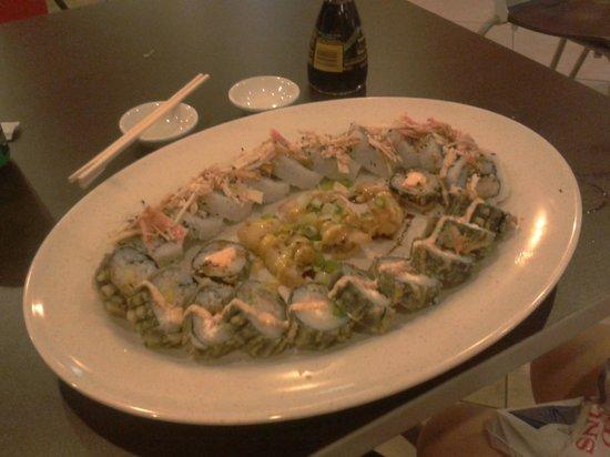 Combo do dia (6ª feira) no Aki Sushi