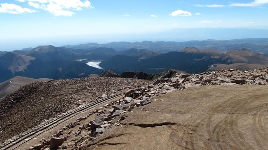 Pikes Peak - America's Mountain: One of several views coming back down from Pike's Peak.