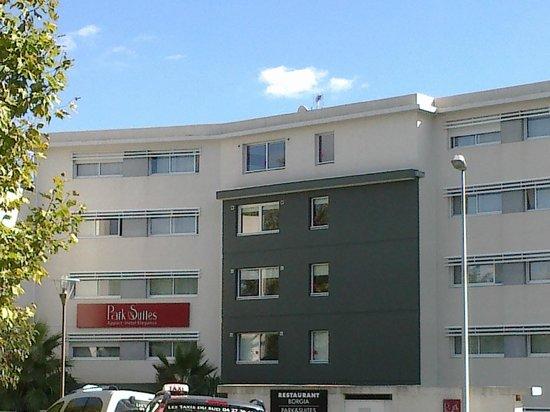 Appart'City Confort Montpellier Ovalie : hotel vue exterieur