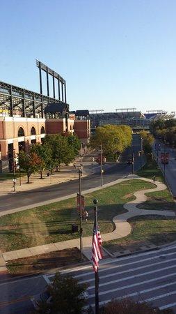 Hampton Inn Baltimore-Downtown-Convention Center: Orioles' Park and M&T Bank Stadium