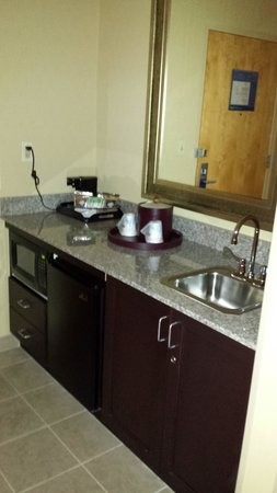 Hampton Inn Baltimore-Downtown-Convention Center: Sink, microwave, mini-fridge, coffee maker