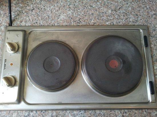 Baiyoke Ciao: kitchen