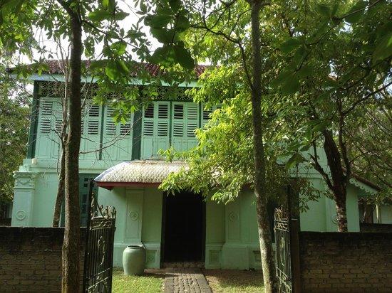 Temple Tree at Bon Ton: Outside Colonial House
