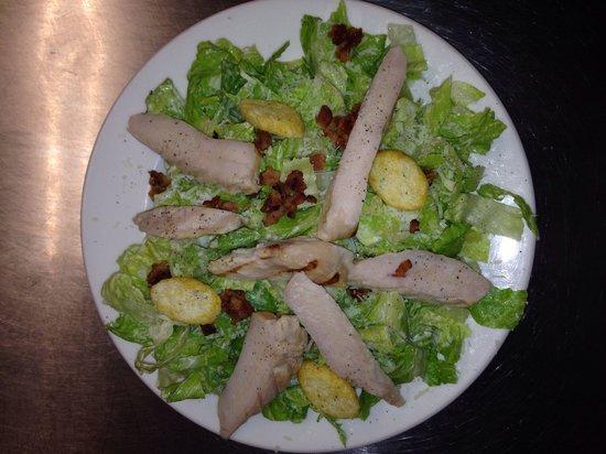 The Britt Inn : Grilled chicken Caesar