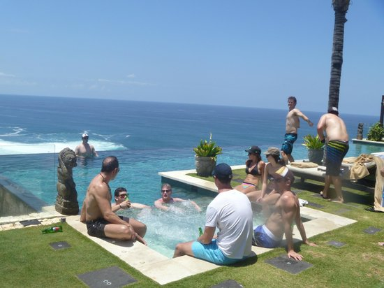 The Ungasan Clifftop Resort: First Villa and pool