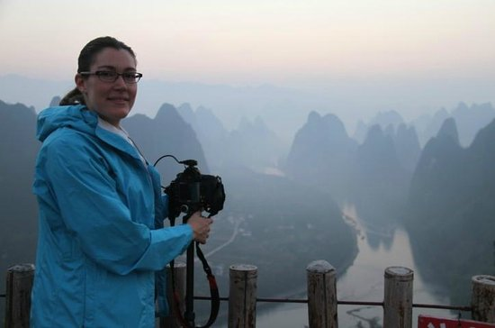 Yangshuo Private Tour-Day Tour: Denise at Yangshuo.