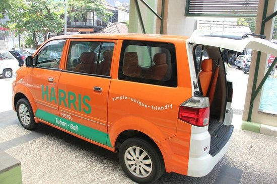 HARRIS Hotel Tuban : Free Ride to airprot