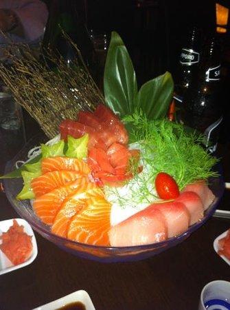 Tani Sushi and Asian Grill: The Tri-color Sashimi Entree
