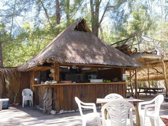 Coco beach Moorea: restaurant