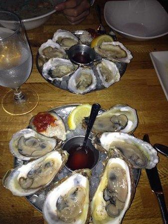 Fishworks: fresh oysters