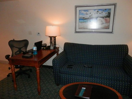 Homewood Suites by Hilton San Diego Airport - Liberty Station : DESK & SOFA