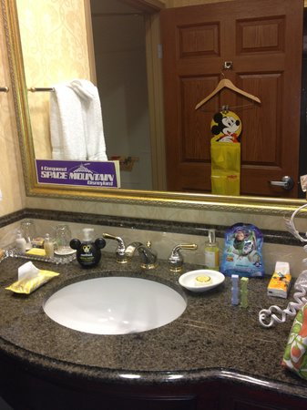 Ayres Hotel Anaheim: We added our Disney decor...